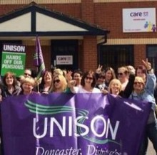 CareUK Picket