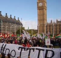 #noTTIP banner by Big Ben